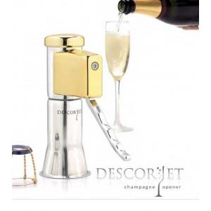 DESCORJET ouvre bouteille à champagne